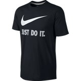 Nike T-Shirt Just Do It swoosh black and white - Medium - Zasttra.com