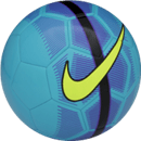 Nike Mercurial Fade soccer ball blue and volt