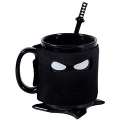 Ninja Mug (with Cover Spoon & Coaster)