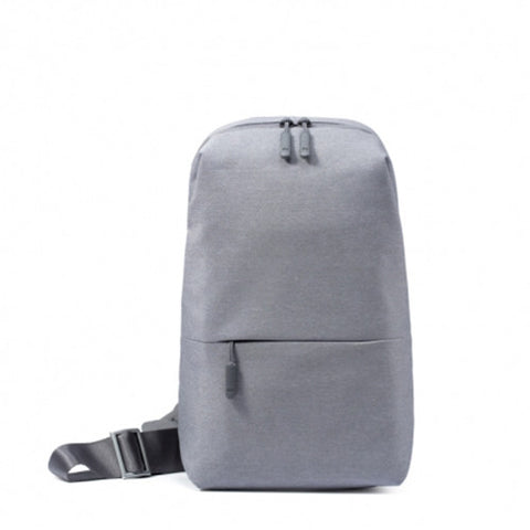 Original Concise and Fashionable Xiaomi Chest Bag Back Pack Travelling Bag Size: 32*17.5*8cm(Grey)