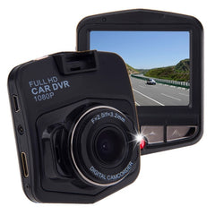 G635 Full HD 1080P 2.3 inch LCD Screen Display Car DVR Recorder Support Loop Recording / Motion Detection / G-Sensor(Black)