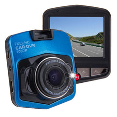 G635 Full HD 1080P 2.3 inch LCD Screen Display Car DVR Recorder Support Loop Recording / Motion Detection / G-Sensor(Blue)