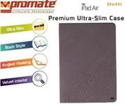 Promate Dotti Premium ultra Slim and Sporty Case for iPad Air-Grey