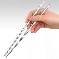 Thread Chopsticks (Colour: Silver one pair of loaded)
