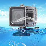 PULUZ for GoPro HERO5 Session / 4 Session 40m Underwater Waterproof Housing Diving Protective Case with Buckle Basic Mount & Screw