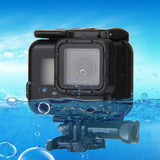 PULUZ 2 in 1 for GoPro HERO5 Touch Screen Back Cover + 45m Waterproof Housing Protective Case with Buckle Basic Mount & Lead Screw No Need to Remove Lens