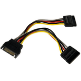 6Pin Sata Power Y Splitter Cable Adapter - Zasttra.com - 1
