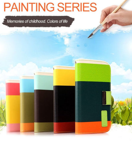 KALAIDENG Painting Series - Wallet Case For Samsung Galaxy S3