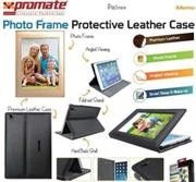 Promate Memo Photo Frame Protective Leather Case for IPad Mini-Cream