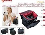 Promate Xpose.L Compact Camera/Camcorder Case with Front Storage