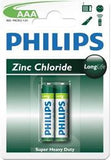 Philips LongLife Battery 2 X R03L2B AAA Zinc Carbon