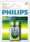 Philips Rechargeables accu Battery 2 X R6B2A270 AA