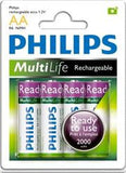 Philips Rechargeables accu Battery 4 X R6B4RTU20 AA