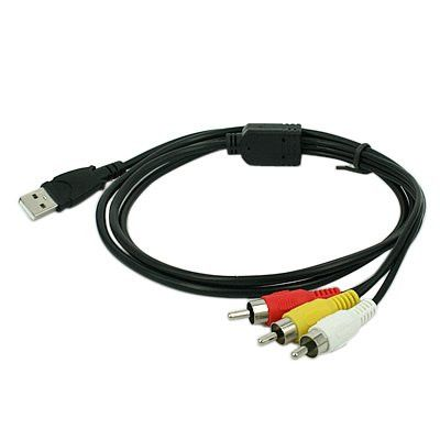 3 Rca To Usb Cable 1.5M