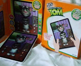 Kids 3D Interactive Tablet - The Talking Tom Cat - Zasttra.com