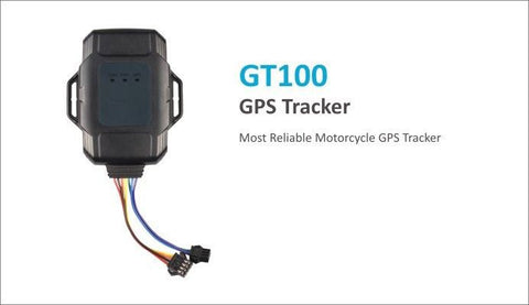 Motorcycle GPS Tracker GT100 (No Contract)