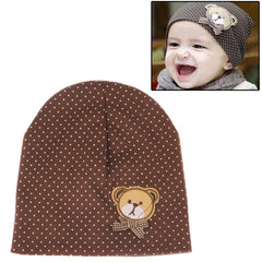Cute Bear Style Soft Cotton Baby Hat
