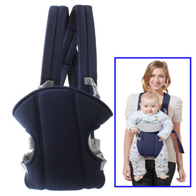 Multiposition Safety Baby Carrier Backpack (Blue)