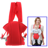 Multiposition Safety Baby Carrier Backpack (Red)