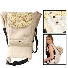Multiposition Safety Baby Carrier Backpack (Beige)