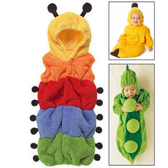 Cute Carpenterworm Style Baby Clothing for Sleeping Size: 75#