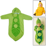 Cute Pea Style Baby Clothing for Sleeping Size: 95#(Green)