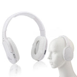 Bluetooth Stereo Headset with Microphone (White)