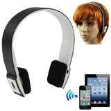 BH-02 Bluetooth V3.0 + EDR Stereo Audio Headset with MIC Transfer Distance: 10m(Black)