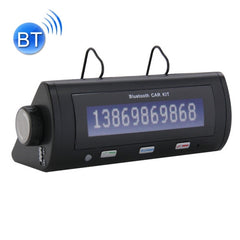 Portable Bluetooth 2.1+EDR HandsFree Car Kit Support Caller ID LCD Display & Voice Dial