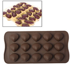 Creative Shell Shape Silicon Chocolate Mold Cake Mold