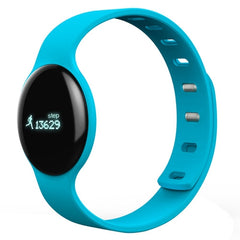 H8 0.68 inch OLED Display Bluetooth 4.0 Smart Bracelet  Support Pedometer / Call Reminder / Sleep Tracking / Watch Function / Anti-lost Function Compatible with iOS and Android System(Blue)