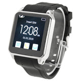 TW208+ GSM Smart Watch Phone Anti-lost Function / Remote Camera / Bluetooth / NFC Network: 2G(Black)