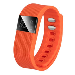 TW64 OLED Display Bluetooth 4.0 Waterproof Smart Bracelet Support Pedometer / Sleep Monitoring / Call Reminder / Clock / Remote camera / Anti-lost Function Compatible with iOS and Android System(Orange)