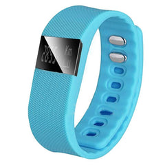 Smart Watch Fitness Activity Tracker Smartband Wristband (Blue)