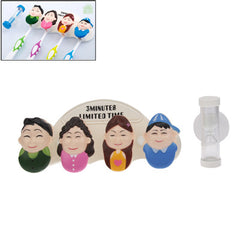 Our Family Style Toothbrush Holder + Sandglass