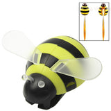 Bumble Bee Toothbrush Holder Suction Cup (Green)