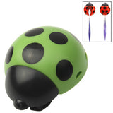 Lady Beetle Toothbrush Holder Suction Cup (Green)
