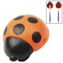 Lady Beetle Toothbrush Holder Suction Cup (Orange)