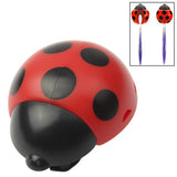 Lady Beetle Toothbrush Holder Suction Cup (Red)