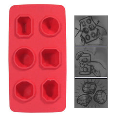 Cool Jewels Dazzling Diamond Ice Cube Tray (Random Color Delivery)