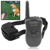 Remote Pet Training Collar with LCD Display Range up to 300 Meters(Black)