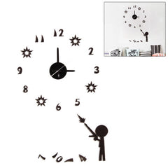 DIY Luminous Decoration Artistic Wall Clock