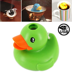 Lovely Duck Style USB Air Humidifier (Green)