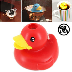 Lovely Duck Style USB Air Humidifier (Red)