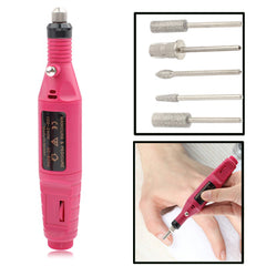 Mini Nail Machine Variable Speed Rotary Detail Carver(Red)