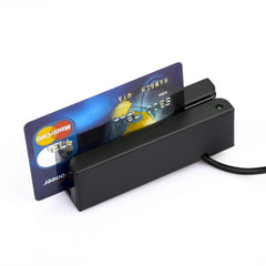 USB Universal Magnetic Stripe Credit / Debit Card Bidirectional Swipe Reader