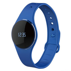 INCHOR L16 Smart Bracelet Bluetooth 4.0 IP67 Touch Control Smartband Fitness Tracker Sleep Monitor Call Reminder for iOS / Android Mobile Phone(Blue)