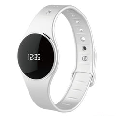 INCHOR L16 Smart Bracelet Bluetooth 4.0 IP67 Touch Control Smartband Fitness Tracker Sleep Monitor Call Reminder for iOS / Android Mobile Phone(Silver)