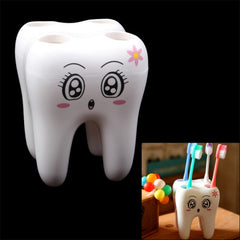 Creative Fashion Tooth Style Toothbrush Holder
