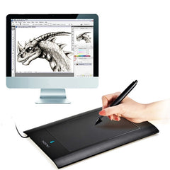 HUION 580 USB Powered 8 x 5 inch Professional Graphic Drawing Tablet with Stylus Pen(Black)